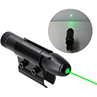Higoo® Powerful Green Laser Dot Sight, Military Tactical Hungting Green Laser Scope, Green Laser Pointer Presenter Pen Aiming Sight