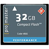 Promaster Performance 32GB Compact Flash Card, 150X