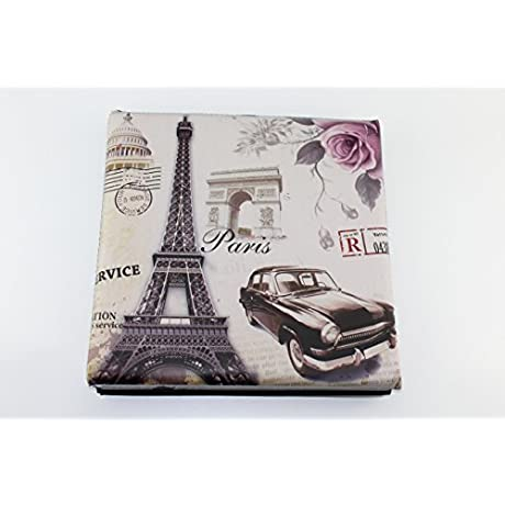 Vintage Style Paris Eiffel Tower Home Folding Storage Ottoman Bench Seat For Living Room Bedroom Eiffel Tower Car