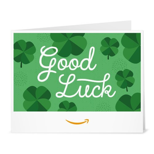 Good Luck Print at home link image