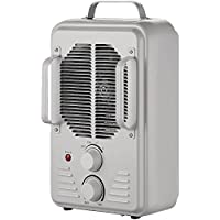 Brentwood  H-F1500U 1500-Watt Portable Ceramic Space Heater and Fan, White