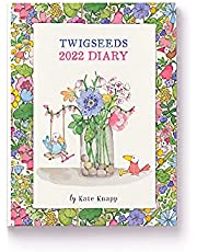 2022 Diary Twigseeds Week to View by Affirmations