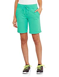 Danskin Women's Essentials Bermuda Short (mint jade small)