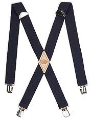 Dickies 1 – 1/4 sólido recto Clip Suspender Tirantes para Hombre
