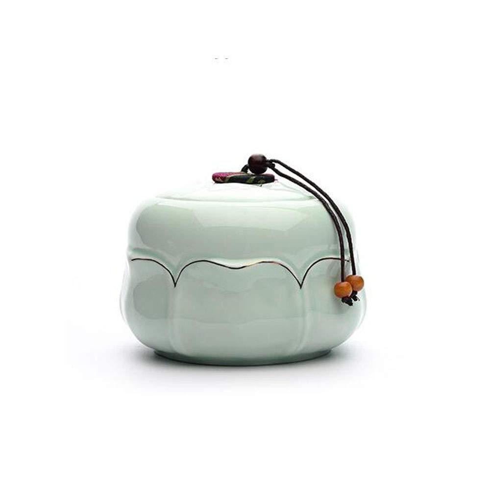 bluee Youshangshipin Pet Casket, Close Relatives and Dear Pet Cremation Crepe, Souvenir Multi-color Optional, Diameter 5.8 Inch Ceramic Kiln bluee and White Gorgeous (color   bluee)
