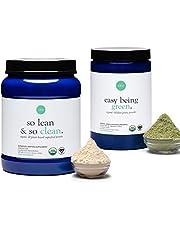 Ora Organic Fitness Bundle - Plant-Based Vanilla-Chai Protein & Greens Powder - Made with Clean, Vegan Ingredients