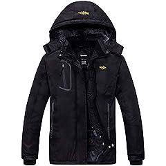 Black 4-5 Years SMITHROAD Girls Winter Print Parka Padded Faux Fur Outwear Warm Long Puffer Windproof Hooded Jacket