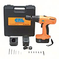 CRL 18V DC Cordless Variable Speed Impact Driver/Drill Kit