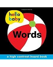 Hello Baby: Words: A High-Contrast Board Book