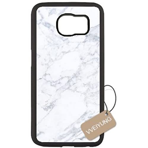 Diy Customized Cell Phone Case for White Marble Black Samsung Galaxy s7 Hard Back Cover Shell Phone Case (Fit: Samsung Galaxy s7) Sales