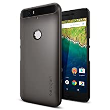 Nexus 6P Case, Spigen Thin Fit Nexus 6P Case with Premium Matte Finish Coating for Nexus 6P 2015 - Gunmetal