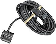 Lowrance 000-14886-001 9-Pin Shoot-Thru Hull M/H Chirp Transducer - No Temp