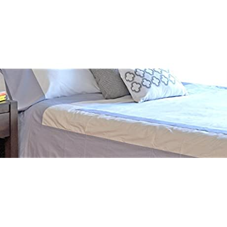Syona Home 100 Organic Cotton Ettan Duvet Cover With Eventide Band Queen Bright White