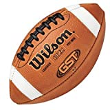 Wilson GST Leather Game Football - Pee Wee