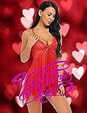 Avidlove Red Lingerie for Women for Him Maternity