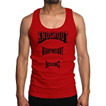 Young Motto Men's KNOCKOUT HEAVYWEIGHT BOXING Tank Top