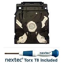 New - Sony PS3 Bluray Drive - 120, 250 GB Slim Models - (KES-450A/ KEM-450AAA Laser) + Nextec® Torx T8 Security Screwdriver