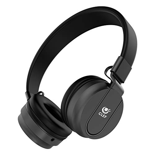 CLEF N200 ON Ear Wired Headphones with MIC