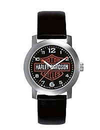 Harley Davidson Black Leather 76A04