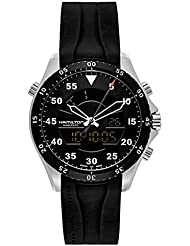 Hamilton Khaki Aviation Flight Timer Quartz Mens Quartz Watch H64554331