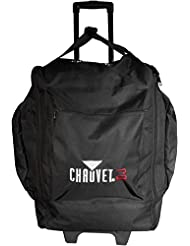 CHAUVET DJ CHS-50 VIP Large Rolling Travel Bag for DJ Lights