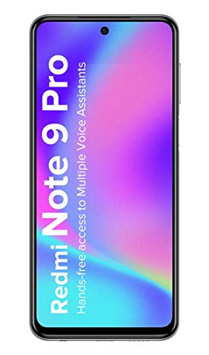 Redmi Note 9 Pro (Interstellar Black, 4GB RAM, 64GB Storage)- Latest 8nm Snapdragon 720G & Alexa Hands-Free Capable