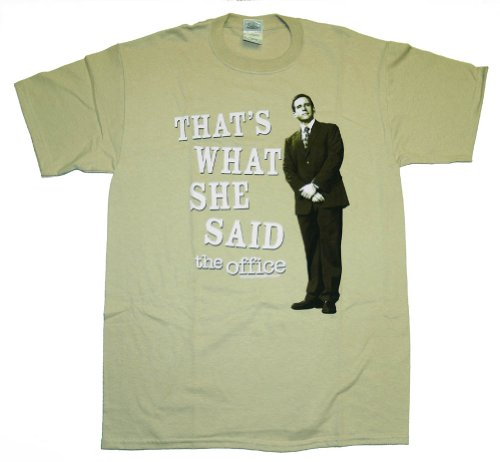 The Office TV That's What She Said Michael Tan T-Shirt