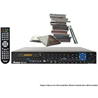 Acesonic BDK 2000 Blu-Ray CDG Karaoke Player with 50 CDG Disc Bundle
