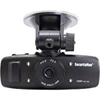 Securityman 1080p HD Dash Car Camera Recorder DVR with Impact G-Sensor Sensing Recording, Motion Detection, and Rechargeable Battery for any Car, Truck, or Vehicle  (Carcam-SD)
