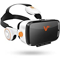 VOX+ BE VR Headset-3D MOVIE And Game Virtual Reality Headset With Headphones,Play at Android, IOS System Phone