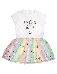 Mini Heroes - Infant Girl's Unicorn Dress