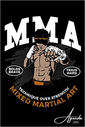 Agenda 2021: MMA | Janvier à Décembre 2021 | Agenda annuel