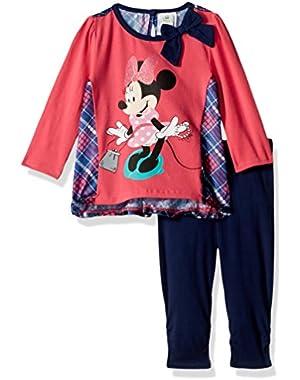 Baby Girls' 2-Piece Minnie Mouse Legging Set