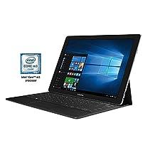 """Samsung Tab Pro S 12""""; 128 GB Wifi Tablet (Black) SM-W700NZKAXAR"""