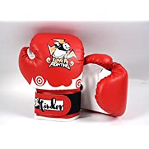 Kids boxing gloves with panda for age 4-9 for boxing training gift