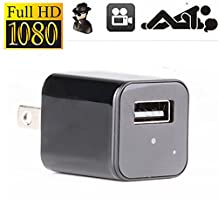 XJW New models1080P HD USB Wall Charger Hidden Spy Camera / Nanny Spy Camera Adapter With in