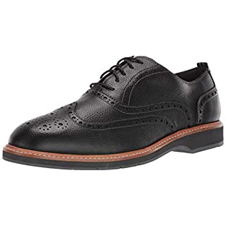 Cole Haan Men's Morris Wing OX Oxford, Black Tumble, 7 W US