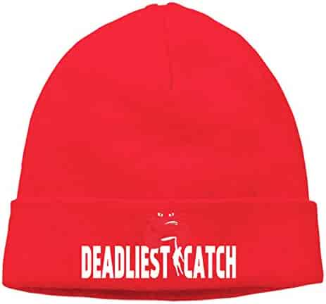 Gzhihine KTSZS Men Women Deadliest Catch Cuffed Beanie Hat Skull Knit Hat  Skull Cap for Men and 9bc8cf440c43