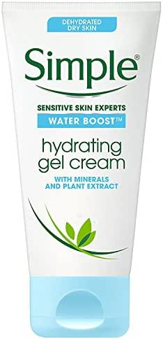 Facial Moisturizer: Simple Water Boost Hydrating Gel Cream