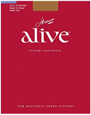 Hanes Women`s Set of 3 Alive Sheer to Waist Pantyhose - Best-Seller!