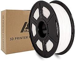 Ankun3Dプリンター用PLAフィラメント PLA シルク 精度 +/- 0.02mm高密度PLAフィラメント【1kg 1.75mm】 気泡なし金属の質感 光沢のある滑らかな表面 環境に優しい純正材料高強度PLA樹脂...