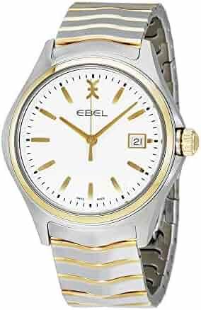 EBEL Men's 1216203 Analog Display Swiss Quartz Two Tone Watch
