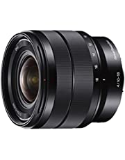 Sony SEL1018 10-18mm Wide-Angle Zoom Lens, Black