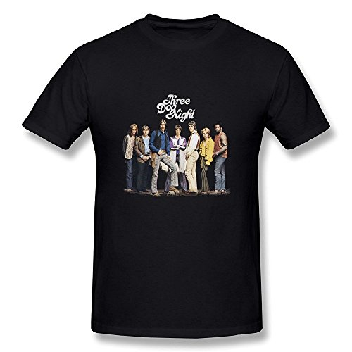 JIAYUHUA Men's Three Dog Night T-shirt