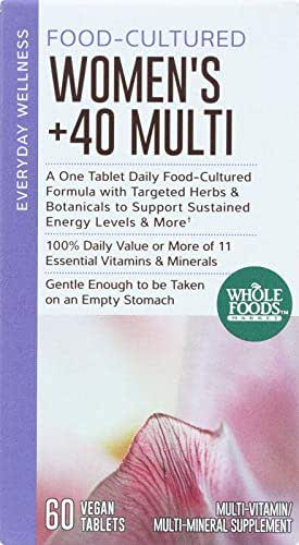 Whole Foods Market, Food-Cultured Women's +40 Multi, 60 ct