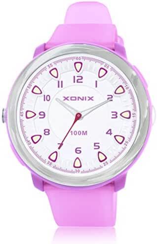 Fashion simple couple of luminous lighting waterproof quartz watches-I