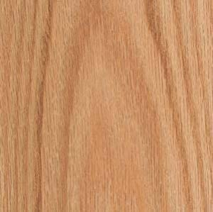 Wood Veneer Oak Red Flat Cut 2x8 Psa Backed Wood