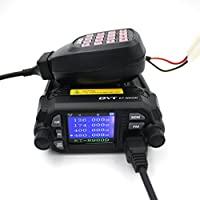 QYT KT-8900D Mobile Transceiver Dual Band QUAD Standby VHF/UHF 136-174/400-480MHz Mini Car Radio Amateur (HAM) Radio
