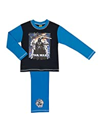 Boys Star Wars Pyjamas Set Various Dark Side Designs - Age 4-10 Years