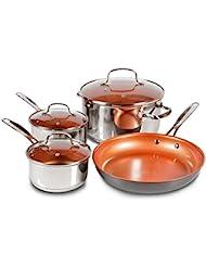 7-Piece Duralon Healthy Ceramic Non-Stick Cookware Set
